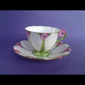 Other - Atlas Royal Winton Violets Teacup And Saucer
